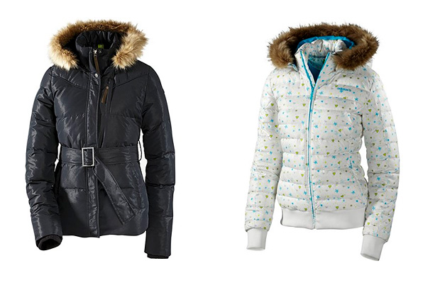 Женские зимние куртки Adidas Neo.  Пуховики Adidas зима 2012.