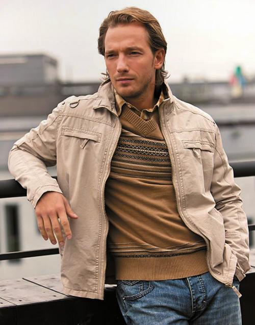 Модные мужские кожаные куртки
