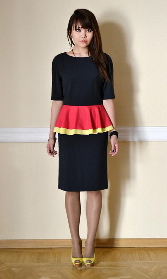 Платье из коллекции осень-зима 2012-2013 модного дома Kogel