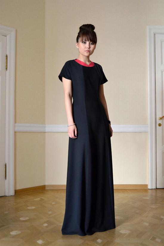 Платье из коллекции осень-зима 2012-2013 из коллекции модного дома Kogel