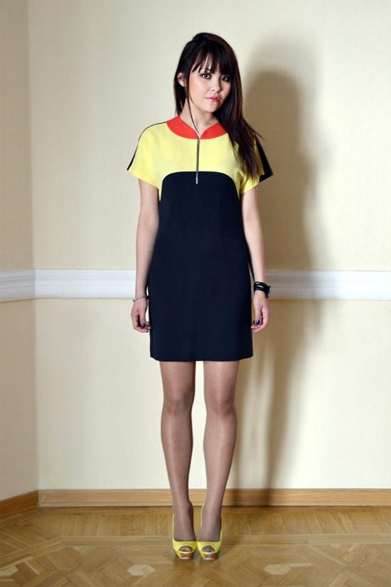 Платье из коллекции осень-зима 2012-2013