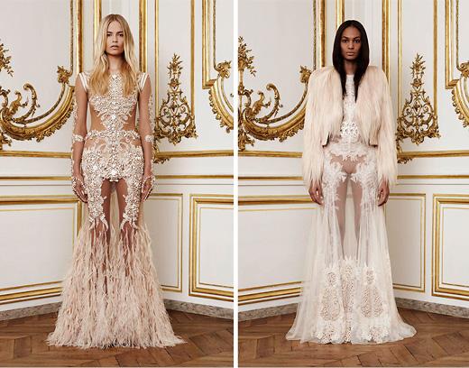 Модный дом Givenchy. Коллекция Haute Couture Fall 2011. Фото