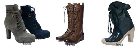 Модная обувь осень-зима 2010-2011. Ботильоны
