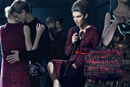Prada. Осень-зима 2010-2011. Тенденции моды. Платья-свитера