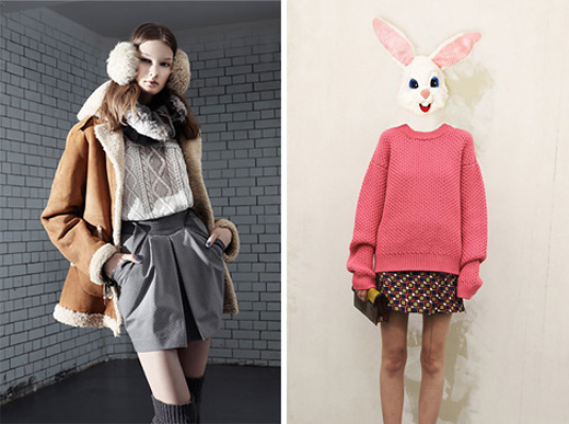 Topshop. Prada. Модные свитера зимой 2010-2011. Тенденции моды