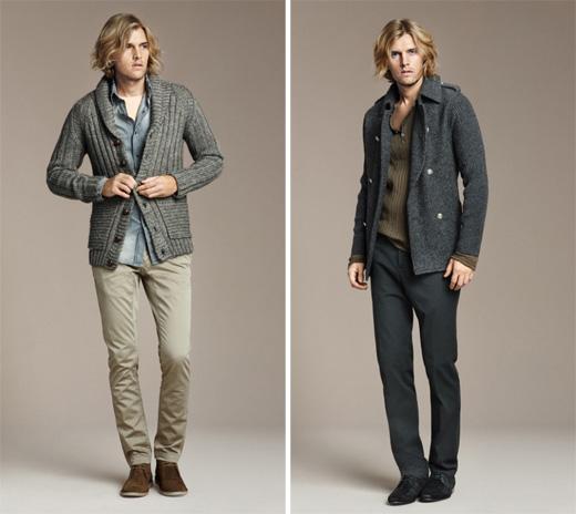 Осень-зима 2010-2011. Магазины модной одежды Zara. Мужская одежда