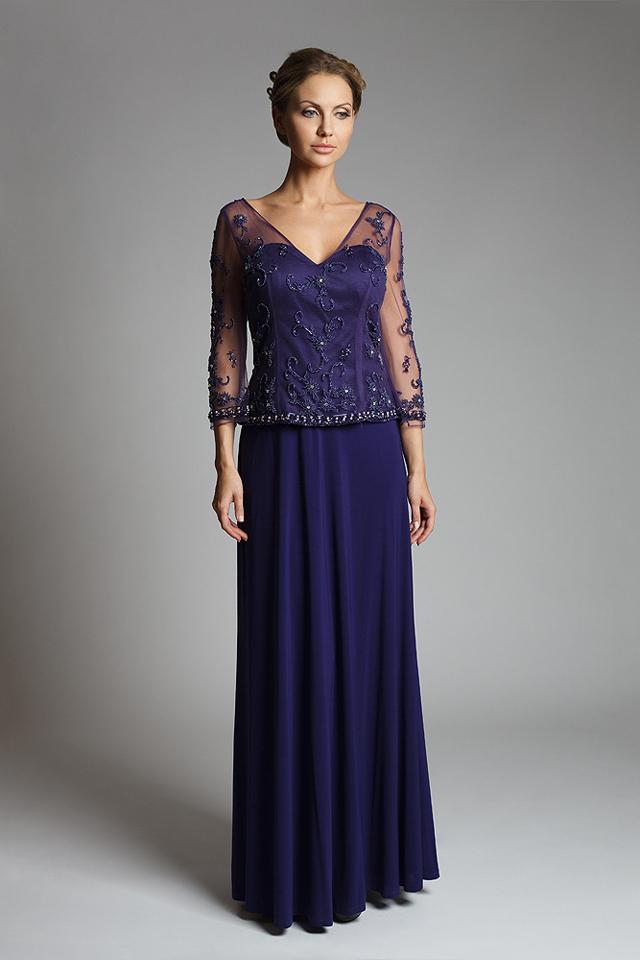 платья с рукавами