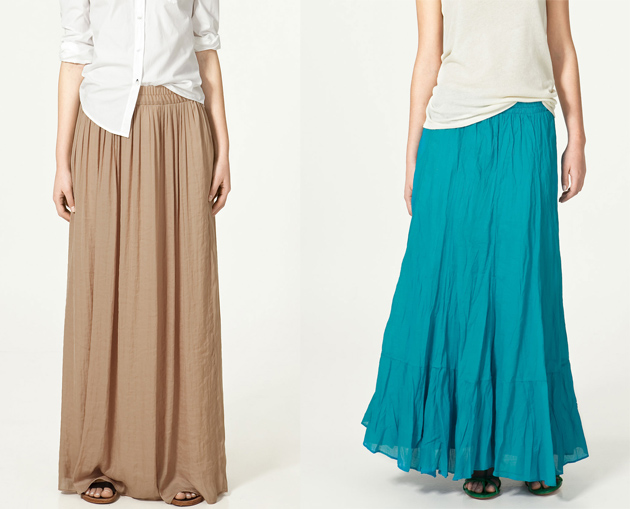 Комментарий: юбки плиссе, короткие пышные юбки.