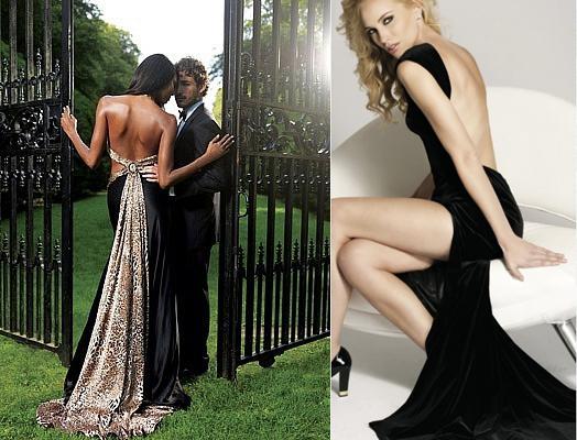 Вечерние платья с открытой грудью