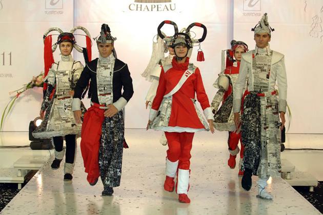 конкурс дизайна головного убора Будущее CHAPEAU (в рамках выставки CHAPEAU)