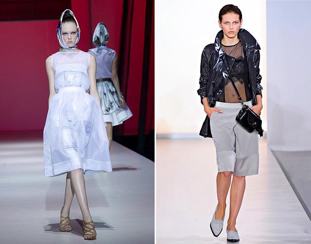 Тенденции моды 2012: прозрачные вещи