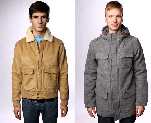 Мужская одежда Quiksilver осень-зима 2010/11 на Proskater. ru.