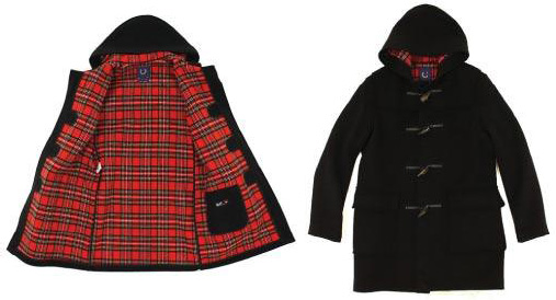 Дафлкот Gloverall и Fred Perry. Duffle coat