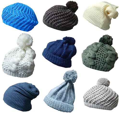 Комментарий: Модные вязаные шапки 2011