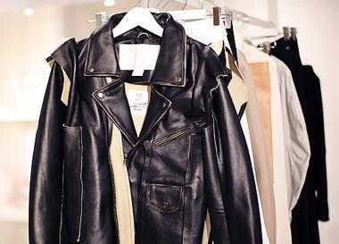 Кожаные куртки весна 2013