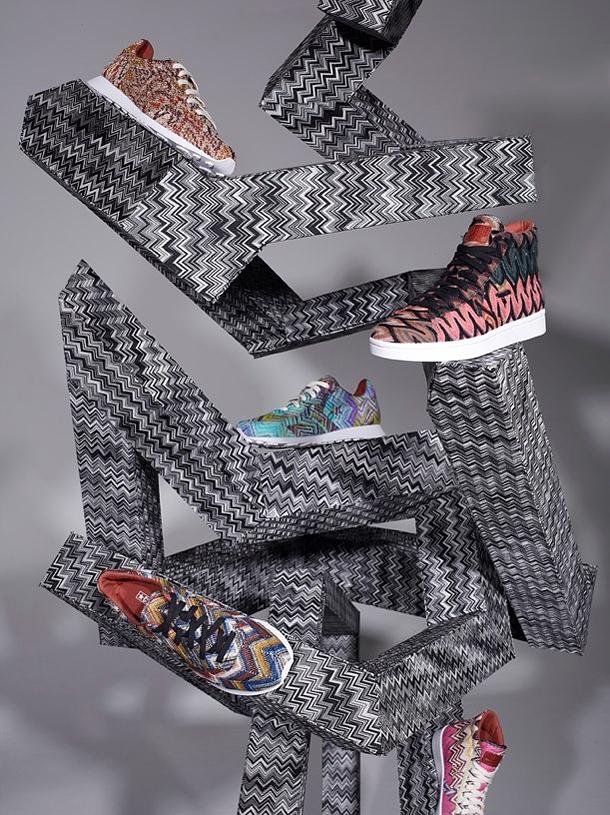 6fd18f484b18 Дизайнеры, работавшие с маркой  Марка Converse сотрудничала с известными  модными брендами, среди которых – Missoni, Woolrich, Comme des Garcons, ...