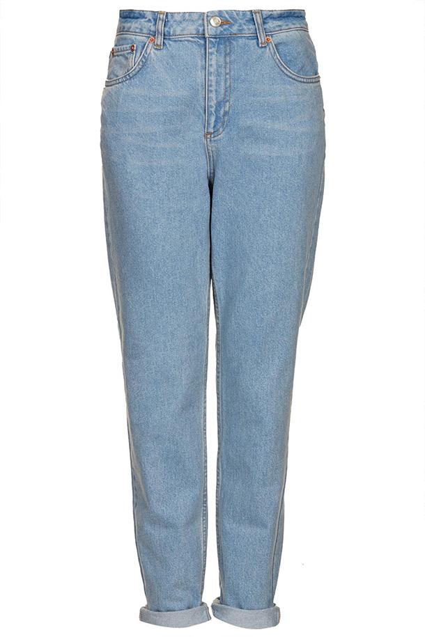 Модных образов с джинсами с высокой талией