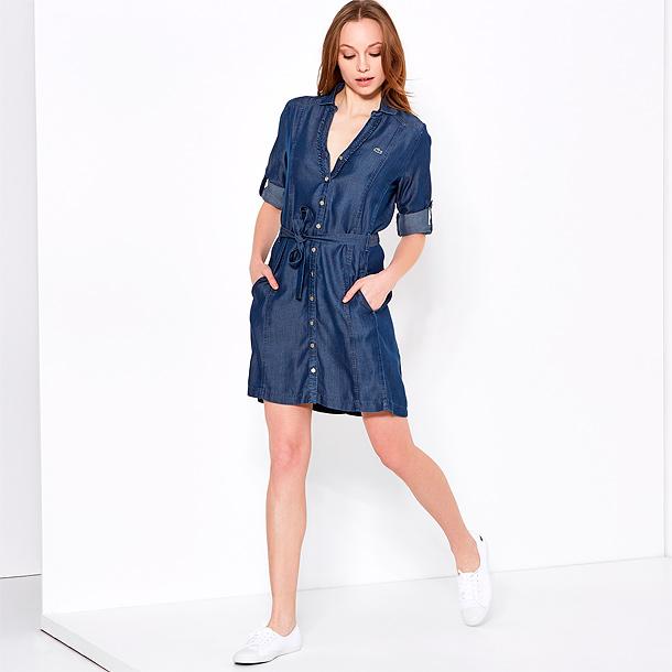 Джинсовая рубашка платье купить москва