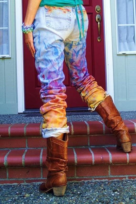 Чем покрасить шорты в домашних условиях 599