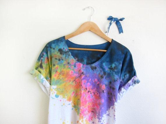 Как своими руками покрасить одежду в