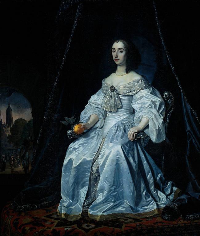 «Генриетта Мария», Антонис Ван Дейк, XVII век