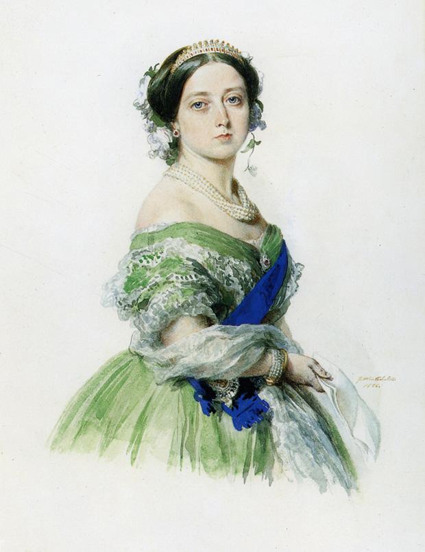 «Королева Виктория», Франц Ксавер Винтерхальтер, 1855 год