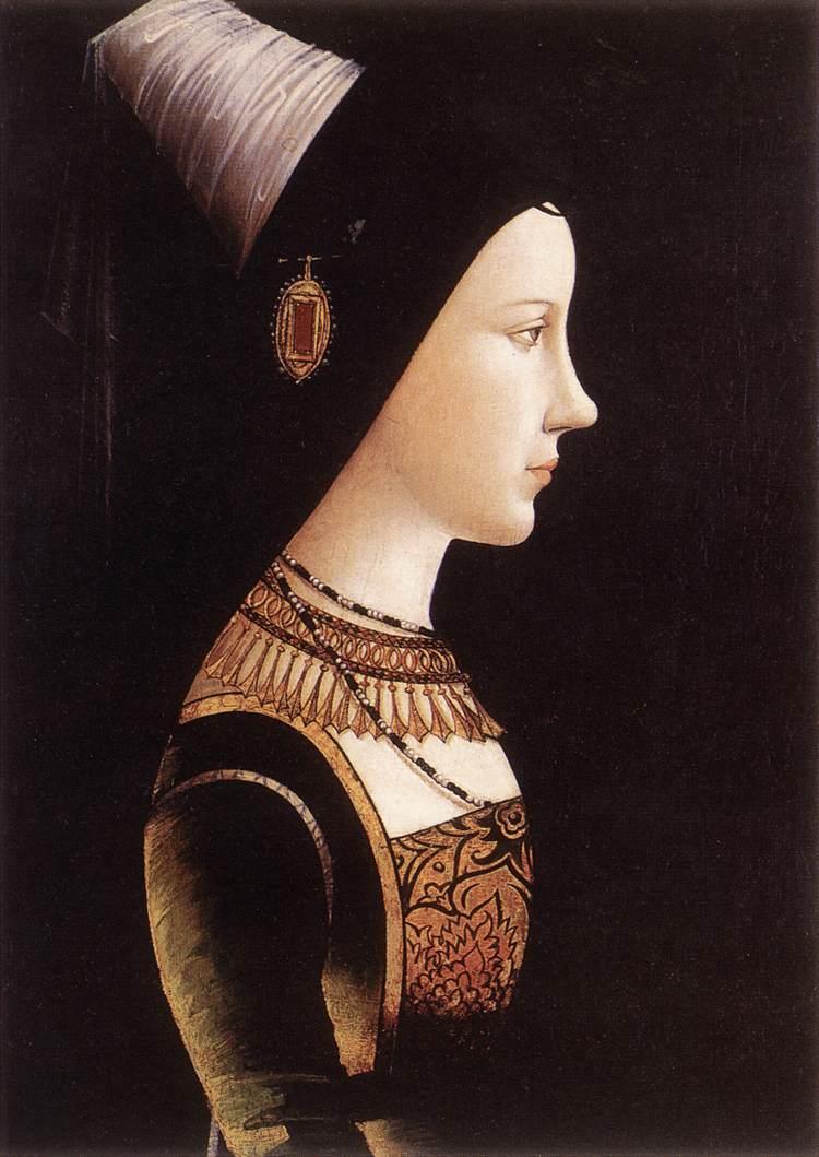 «Мария бургундская», Михаэль Пахер, 1490 год