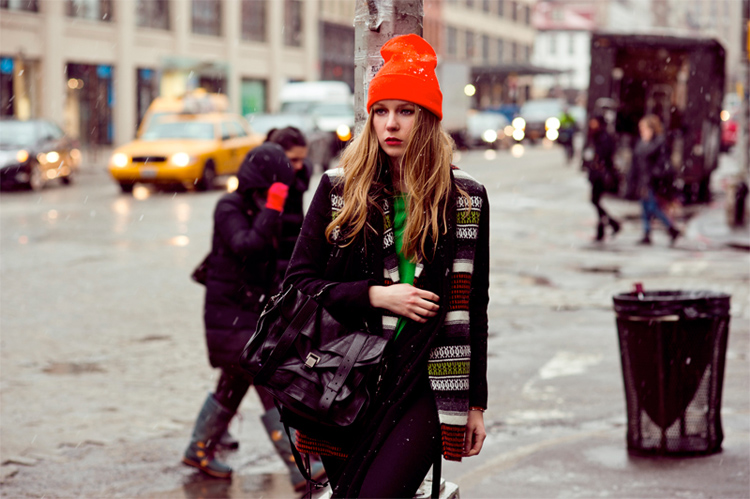 beanie hat street style шапка бини бини American Apparel