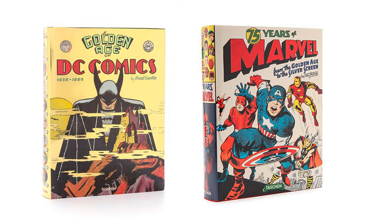 Golden Age of DC Comics 75 Years of Marvel Comics