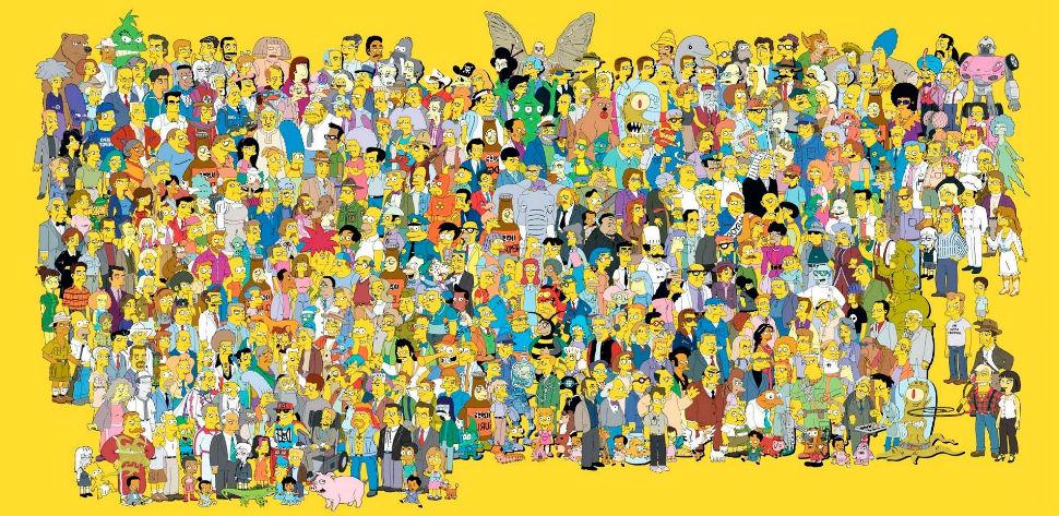 Все персонажи сериала симпсоны