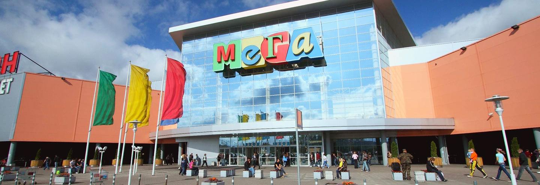 Схема расположения магазинов мега парнас