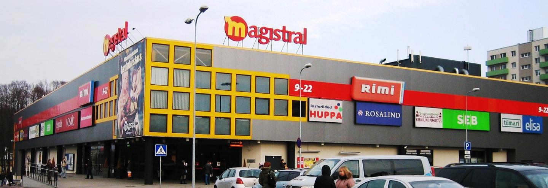 1be8038f1f8 ТЦ «Magistral» в Таллине: адрес, магазины одежды, часы работы, как ...
