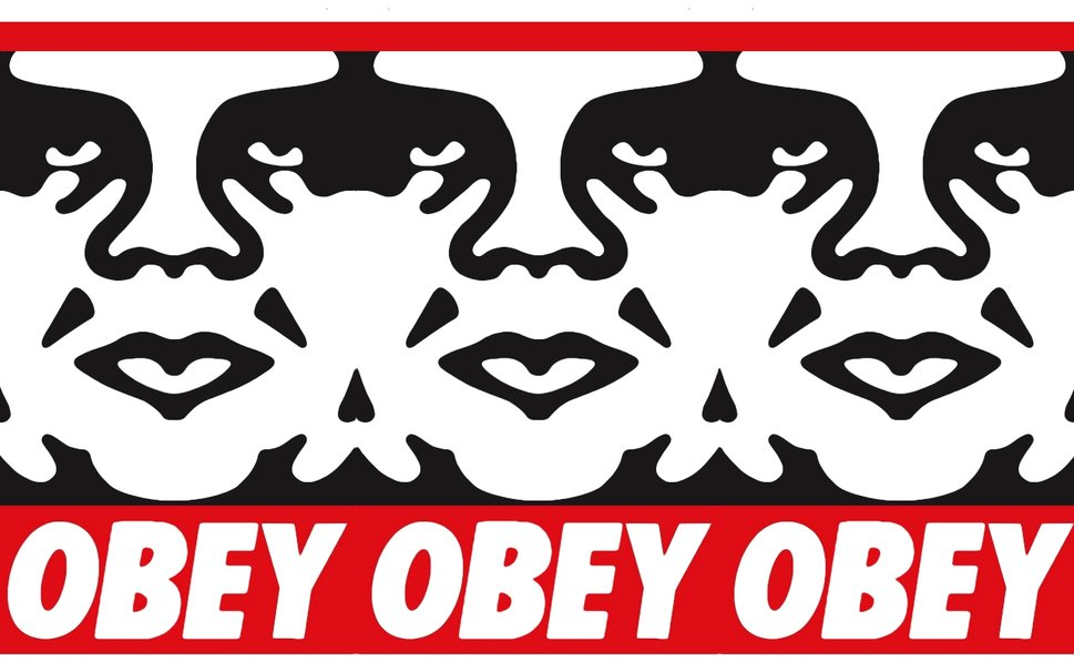 obey giant You know his work, but you might not know his name a new documentary puts the spotlight on shepard fairey, the mind behind a number of truly iconic pieces of art.