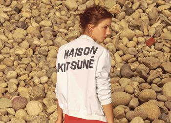 Lookbook: Maison Kitsune. Весна/Лето 2016
