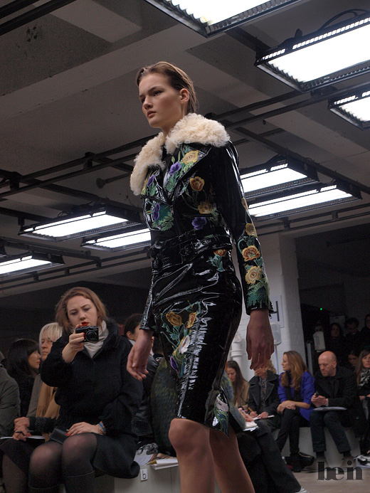 Christopher Kane. AW 2010. London fashion week