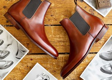 Lookbook: Crockett & Jones. Осень/Зима 2016-2017
