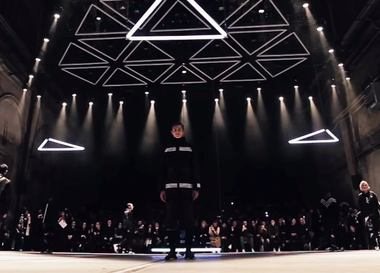 Видео: показ adidas Originals x White Mountaineering Осень/Зима 2016-2017