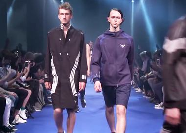 Видео: показ adidas Originals x White Mountaineering Весна/Лето 2017