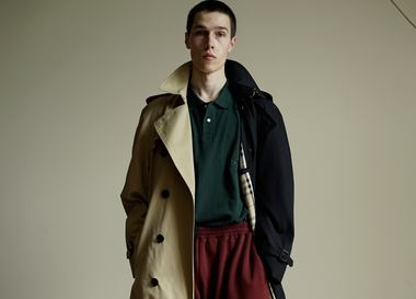 Lookbook: Gosha Rubchinskiy x Burberry. Весна/Лето 2018