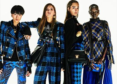 Lookbook: Balmain. Осень/Зима 2017-2018