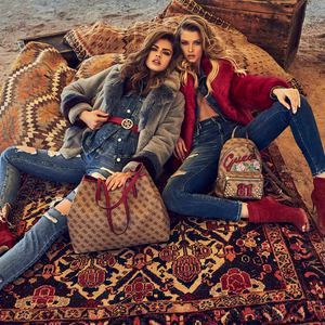 Guess. Осень/Зима 2018-2019 Lookbook: