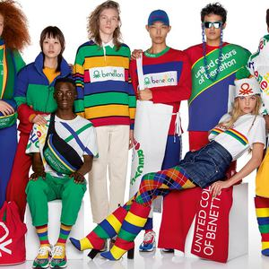 United Colors of Benetton. Осень/Зима 2019-2020 Lookbook: