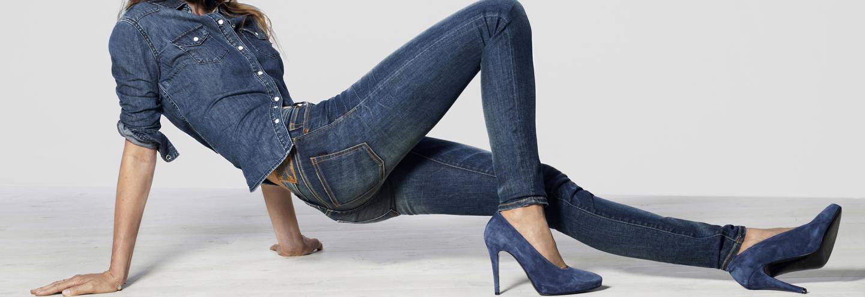78c2a8b96178d Купить женские джинсы от 599 руб. в Москве и интернет-магазинах 2019 ...